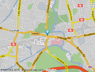 Map of W.Hanson (Iron Bridge) Ltd